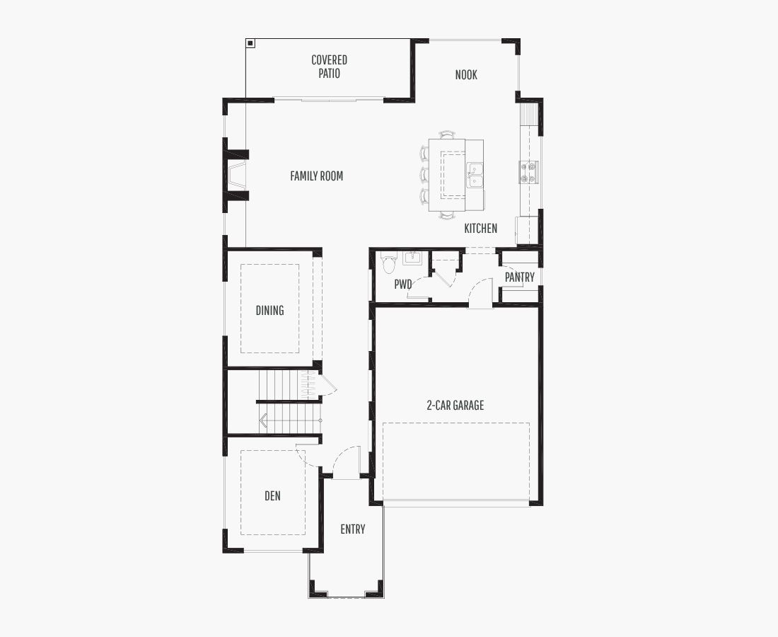 2840 Square Feet   Two Story    4 Bedrooms   4 Bathrooms   2 car garage