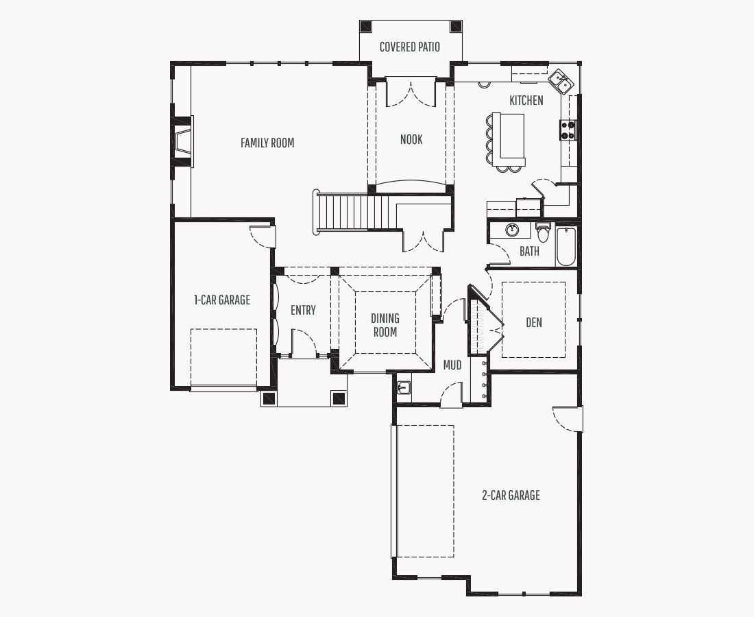 3869 Square Feet | Two Story  | 4 Bedrooms | 4 Bathrooms | 3 car garage