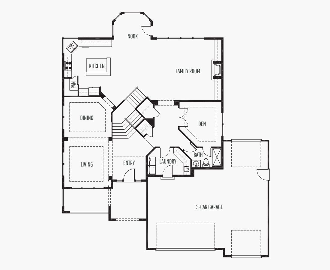 3589 Square Feet | Two Story  | 4 Bedrooms | 4 Bathrooms | 3 car garage
