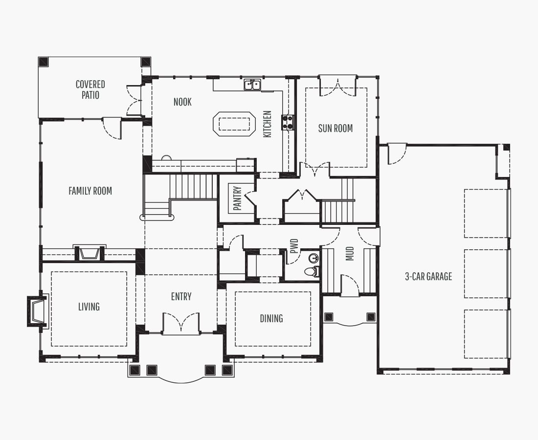 4896 Square Feet | Two Story  | 5 Bedrooms | 5 Bathrooms | 3 + shop car garage