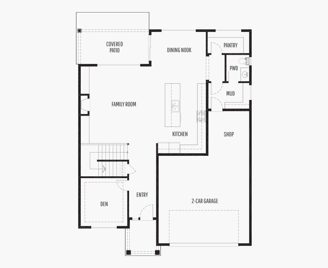 2628 Square Feet   Two Story    4 Bedrooms   4 Bathrooms   2 + shop car garage