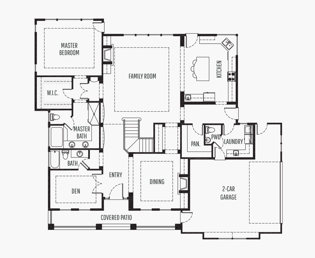 3301 Square Feet | Two Story  | 3 Bedrooms | 3 Bathrooms | 2 car garage