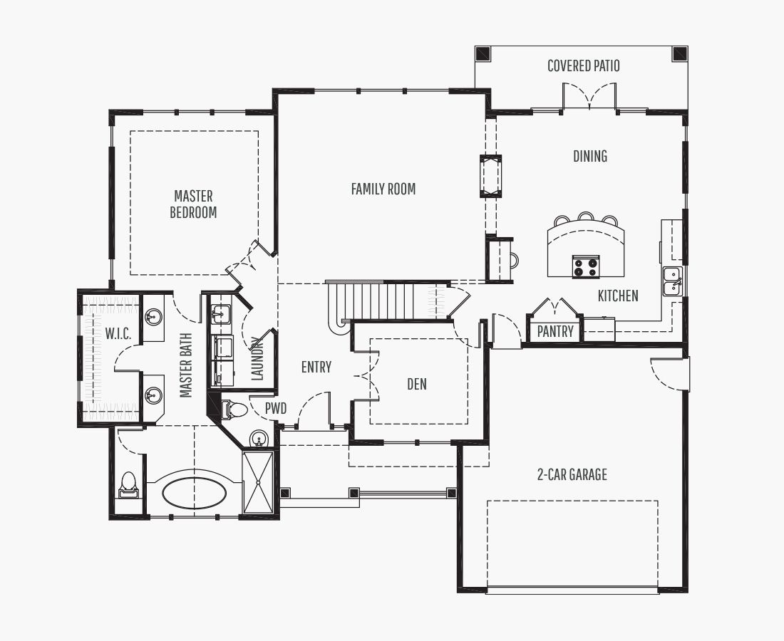 2606 Square Feet | Two Story  | 3 Bedrooms | 3 Bathrooms | 2 car garage