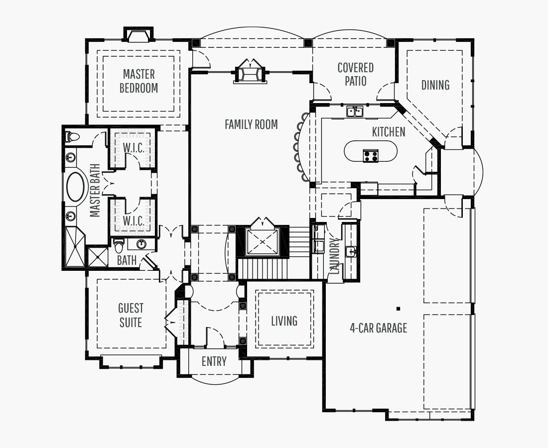 5112 Square Feet | Two Story  | 4 Bedrooms | 4 Bathrooms | 4 car garage