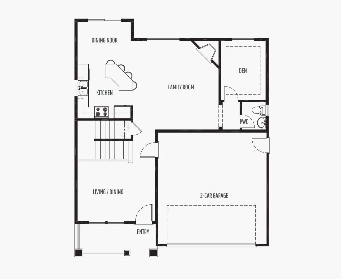 1759 Square Feet   Two Story    3 Bedrooms   3 Bathrooms   2 car garage