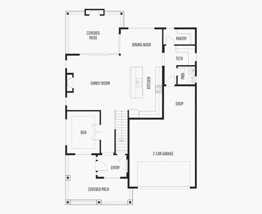 2675 Square Feet | Two Story  | 4 Bedrooms | 4 Bathrooms | 2 + shop car garage