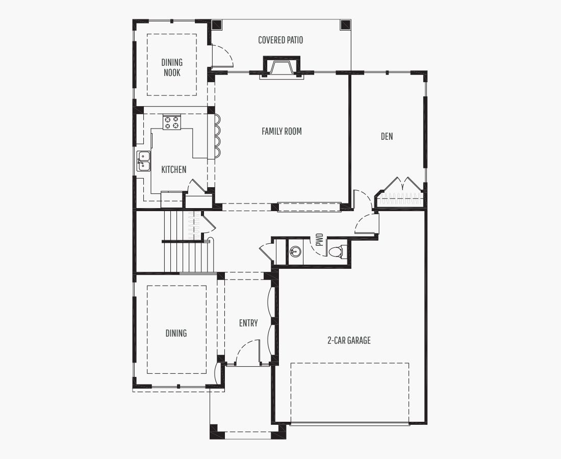 3169 Square Feet | Two Story  | 4 Bedrooms | 4 Bathrooms | 2 car garage