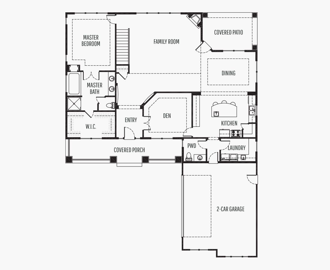 3294 Square Feet   Two Story    3 Bedrooms   3 Bathrooms   2 car garage