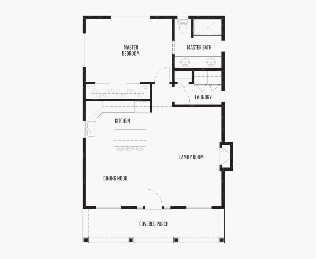 850 Square Feet | ADU/Garage  | 1 Bedroom | 1 Bathroom | car garage