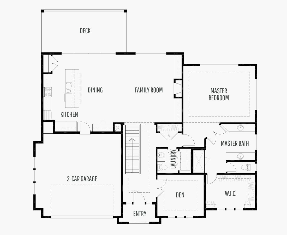 3075 Square Feet | One Story Sloping  | 4 Bedrooms | 4 Bathrooms | 2 car garage