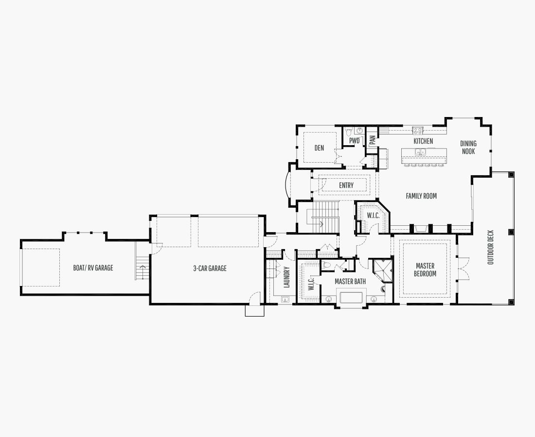 4454 Square Feet | One Story Sloping  | 4 Bedrooms | 4 Bathrooms | 3 car garage