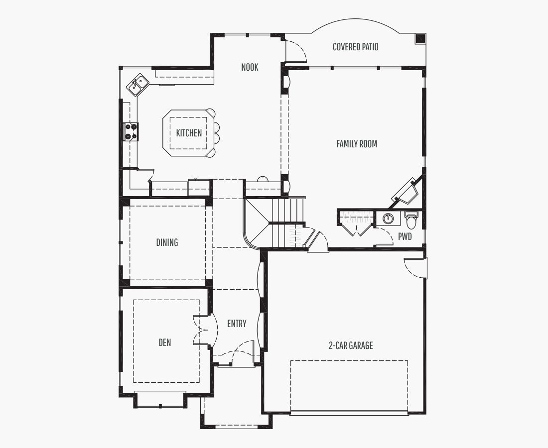 3246 Square Feet   Two Story    4 Bedrooms   4 Bathrooms   2 car garage