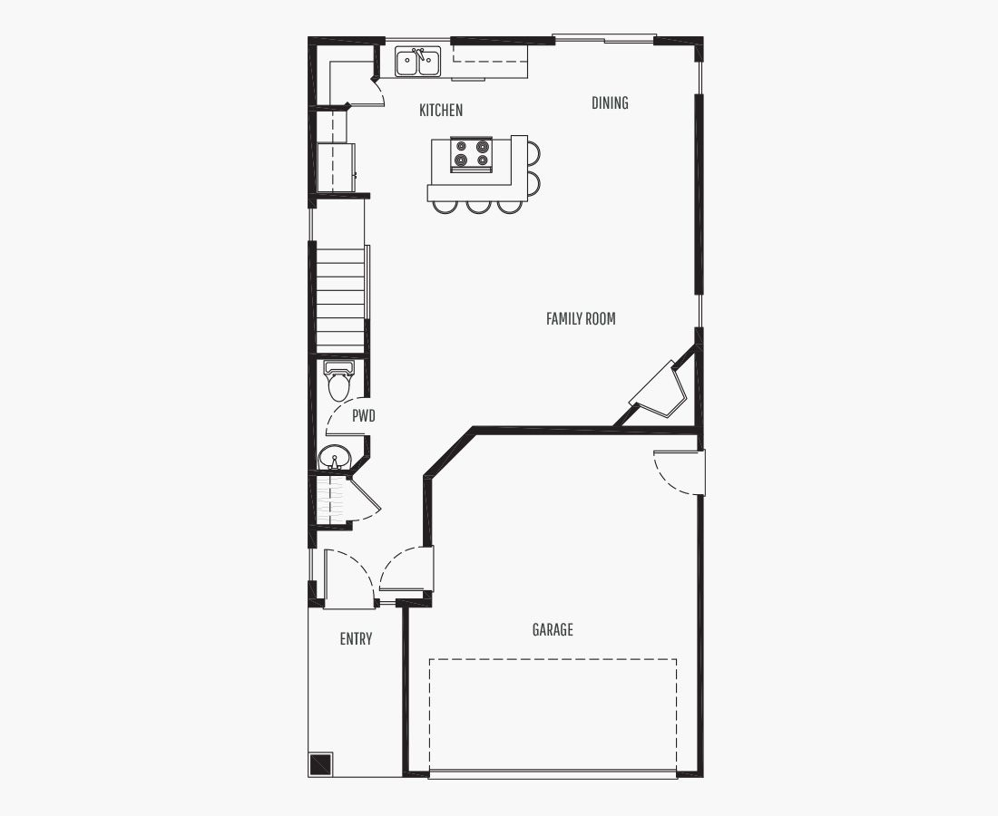 1474 Square Feet   Two Story    3 Bedrooms   3 Bathrooms   2 car garage