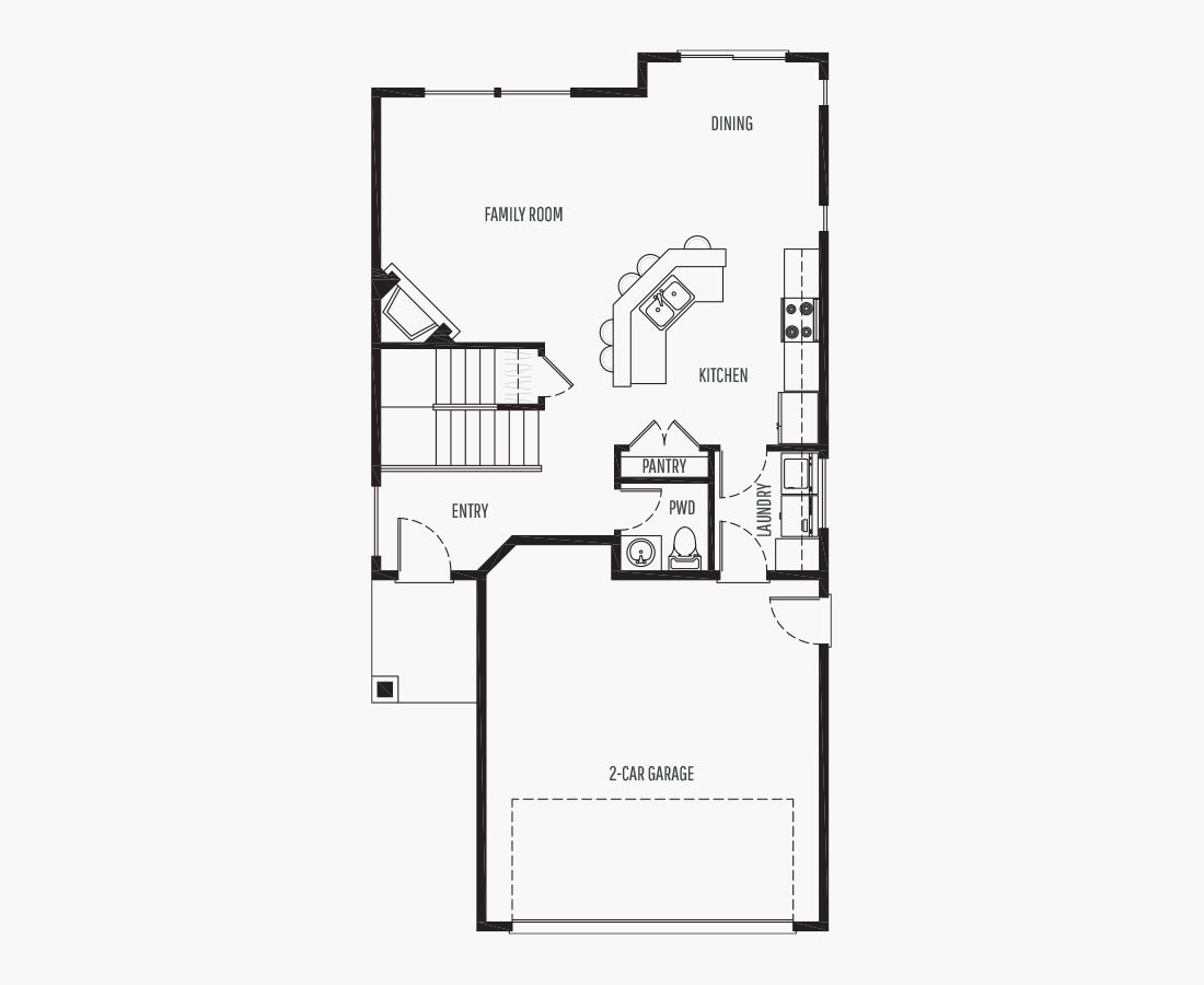1602 Square Feet   Two Story    3 Bedrooms   3 Bathrooms   2 car garage