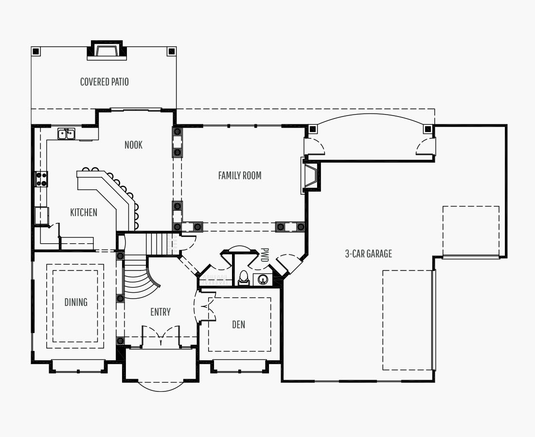 4170 Square Feet | Two Story  | 3 Bedrooms | 3 Bathrooms | 3 + shop car garage
