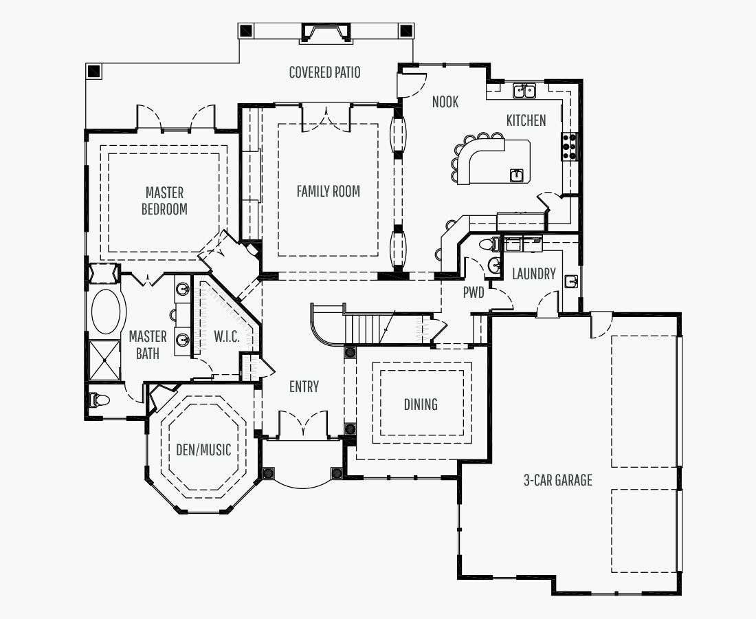 4270 Square Feet   Two Story    5 Bedrooms   5 Bathrooms   3 + shop car garage