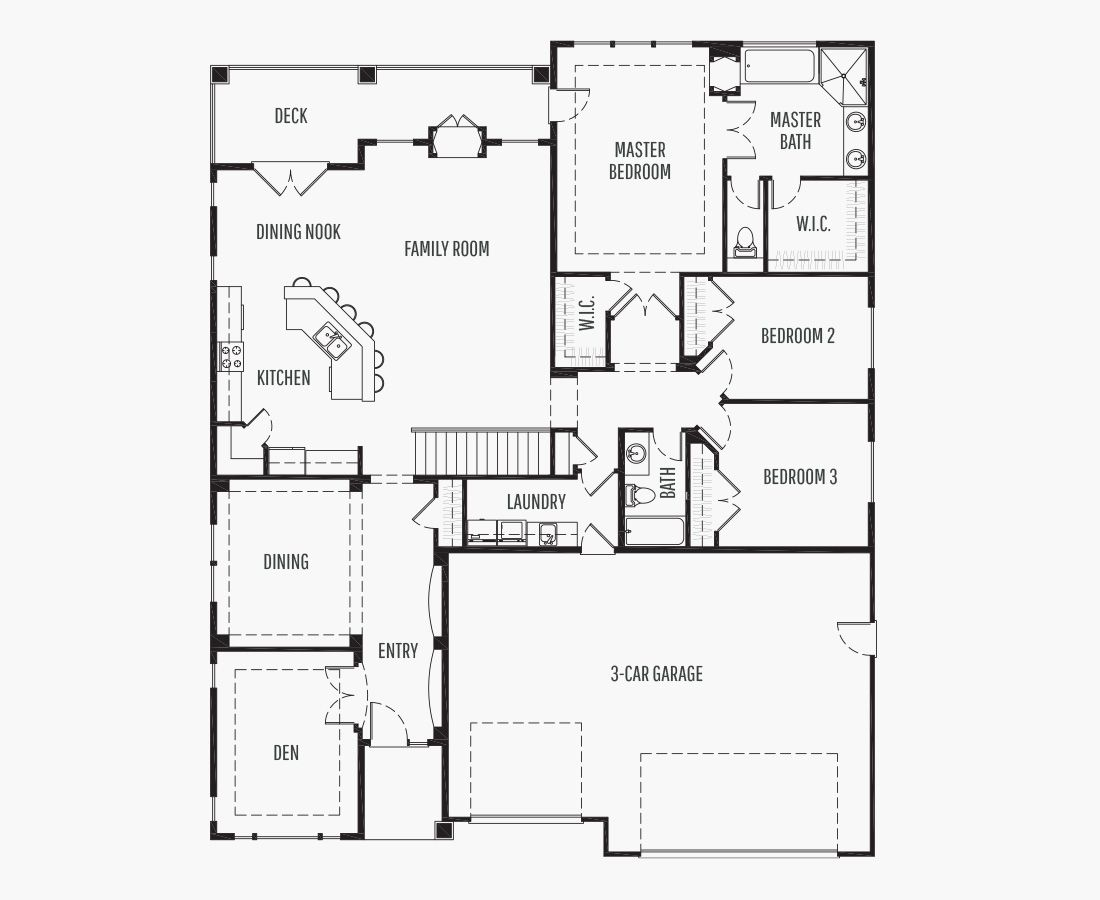 4260 Square Feet   One Story Sloping    4 Bedrooms   4 Bathrooms   3 car garage