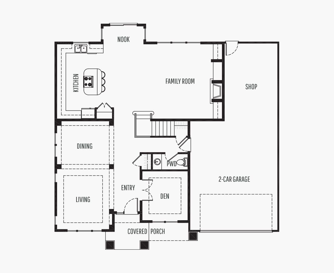 3288 Square Feet | Two Story  | 4 Bedrooms | 4 Bathrooms | 2 + shop car garage