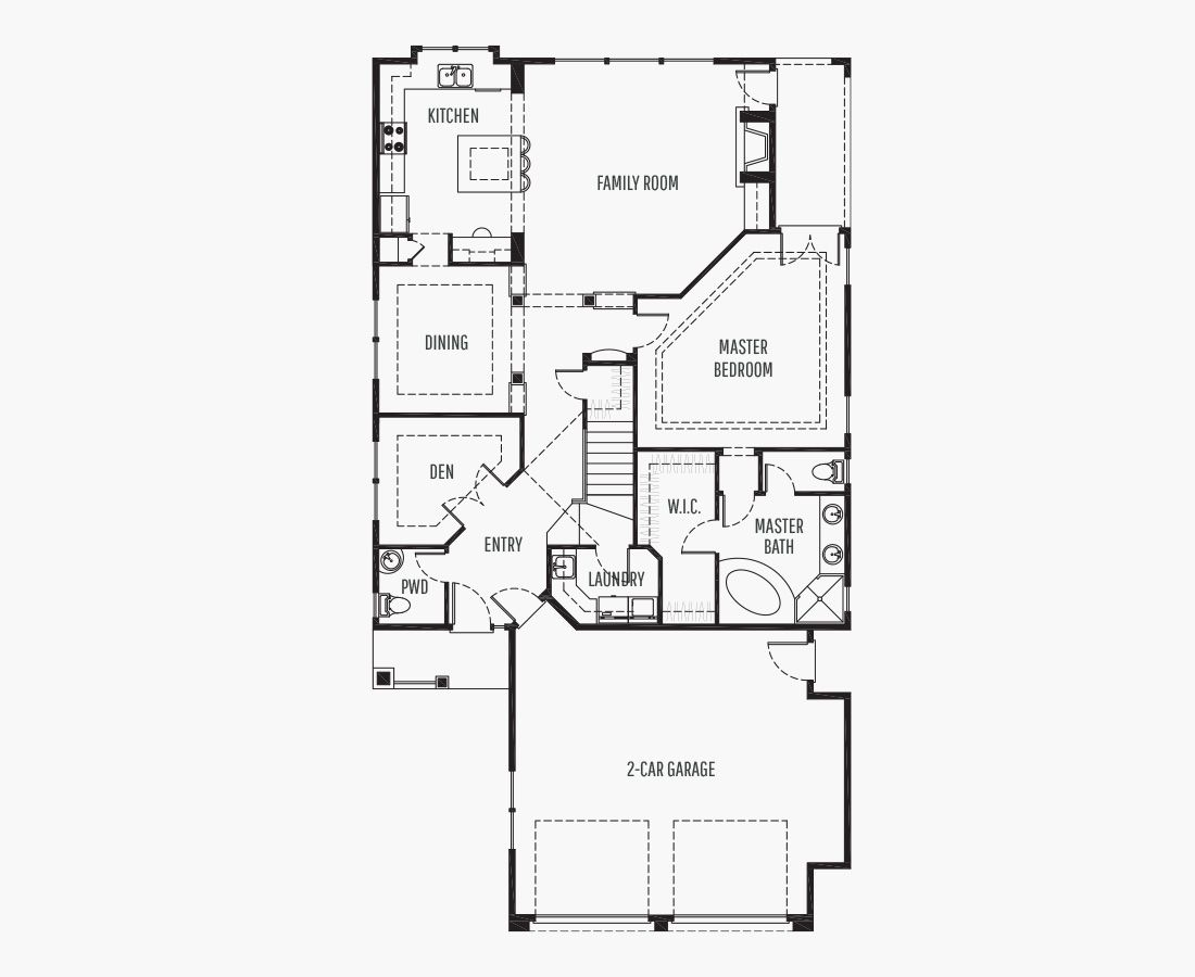 3149 Square Feet | Two Story  | 3 Bedrooms | 3 Bathrooms | 2 car garage