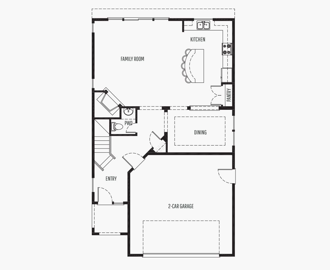2259 Square Feet   Two Story    4 Bedrooms   4 Bathrooms   2 car garage