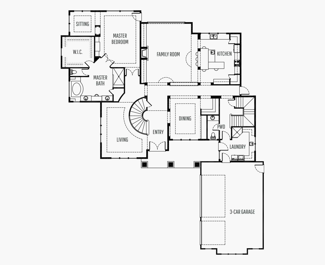5132 Square Feet   Two Story    5 Bedrooms   5 Bathrooms   3 car garage