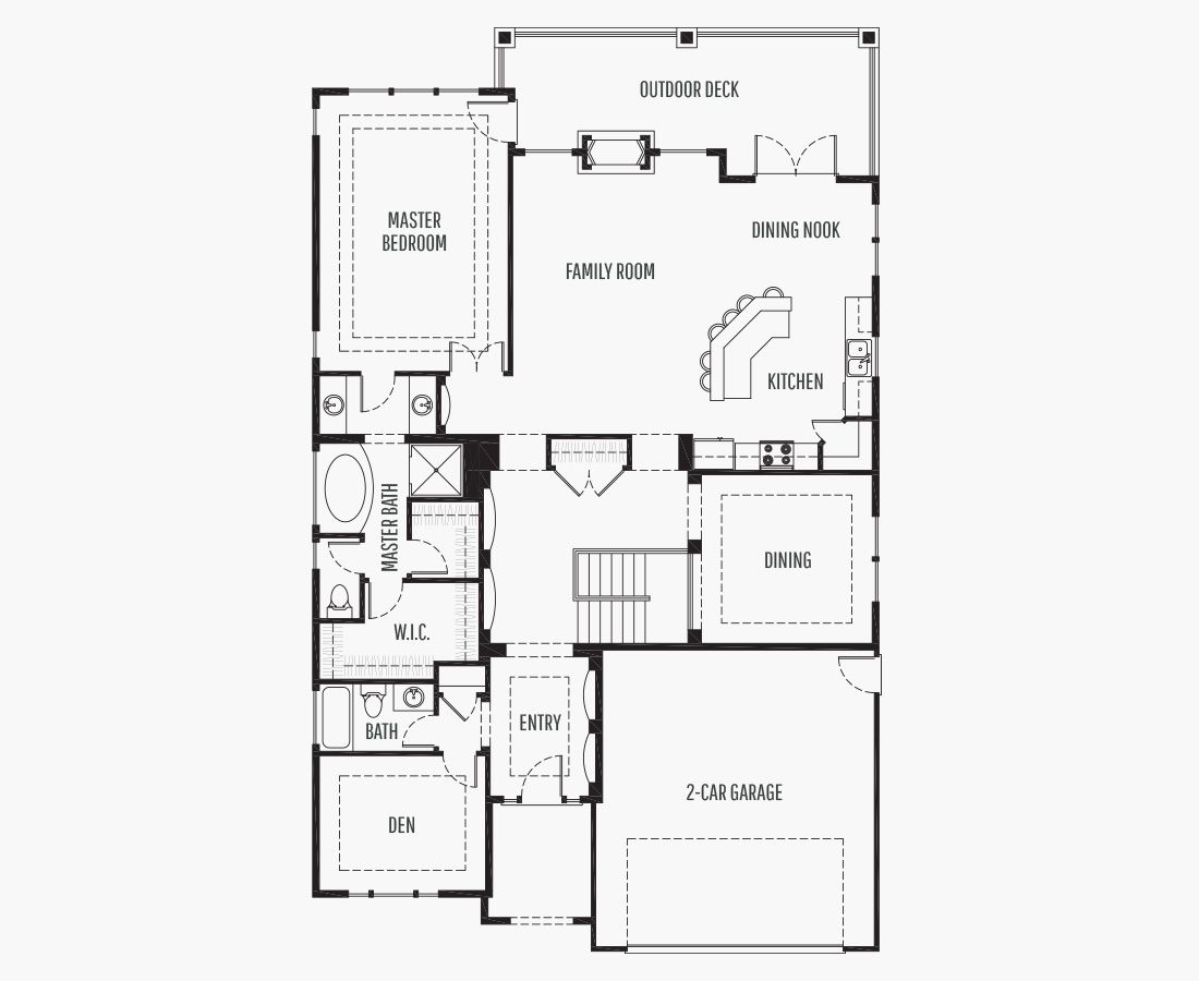 3223 Square Feet | One Story Sloping  | 3 Bedrooms | 3 Bathrooms | 2 car garage