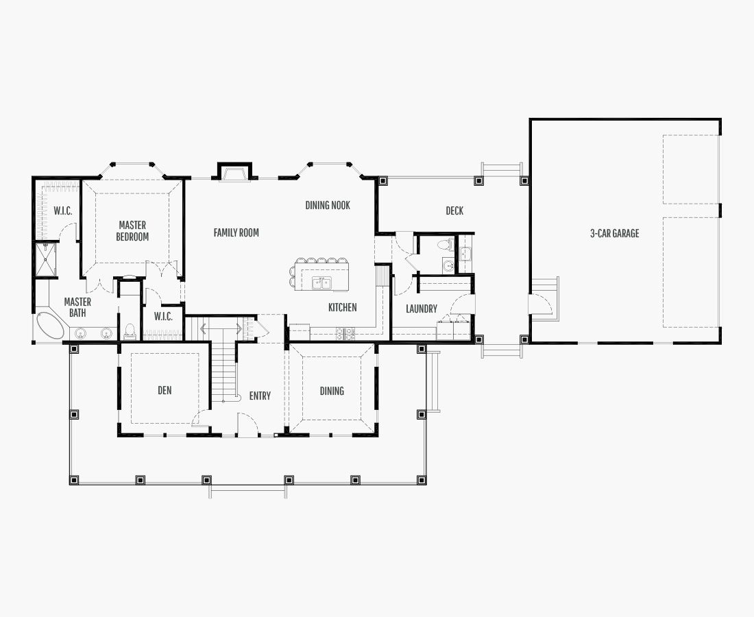 3275 Square Feet   Two Story    4 Bedrooms   4 Bathrooms   3 car garage