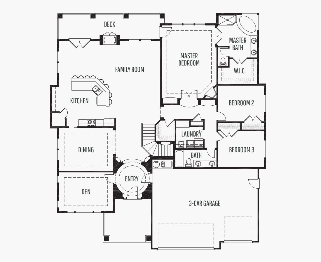 4669 Square Feet | One Story Sloping  | 4 Bedrooms | 4 Bathrooms | 3 car garage