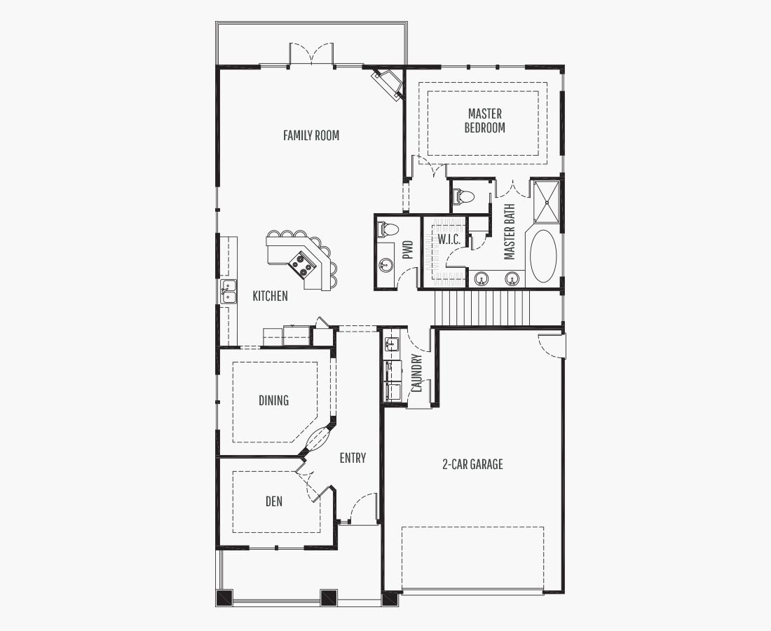 2722 Square Feet | One Story Sloping  | 3 Bedrooms | 3 Bathrooms | 2 +Shop car garage