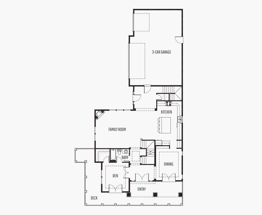 4242 Square Feet   Two Story Sloping    4 Bedrooms   4 Bathrooms   3 (Side) car garage
