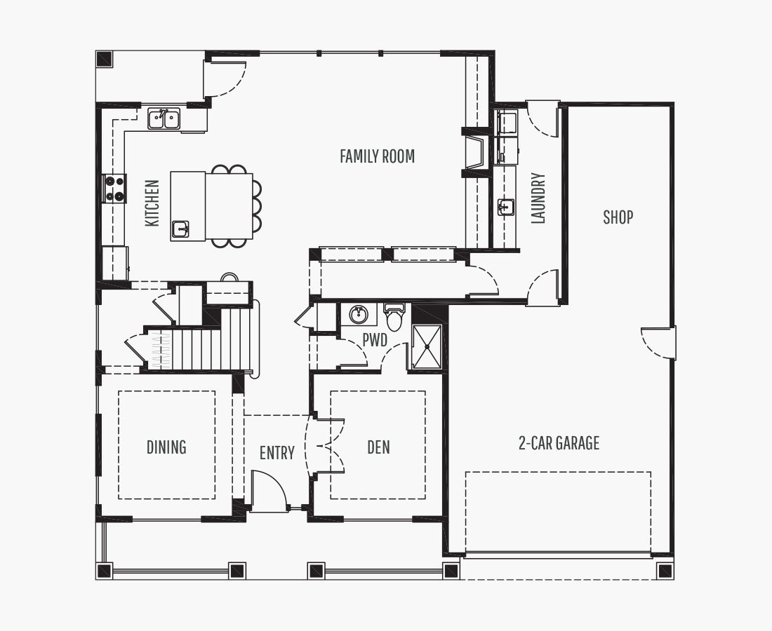 3156 Square Feet   Two Story    4 Bedrooms   4 Bathrooms   2 + shop car garage