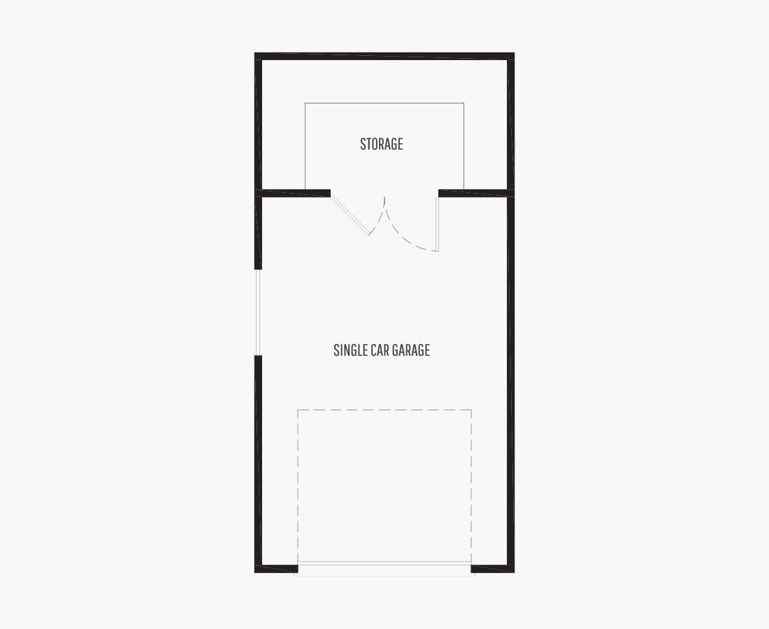 288 Square Feet | ADU/Garage  | 0 Bedroom | 0 Bathroom | 1 car garage