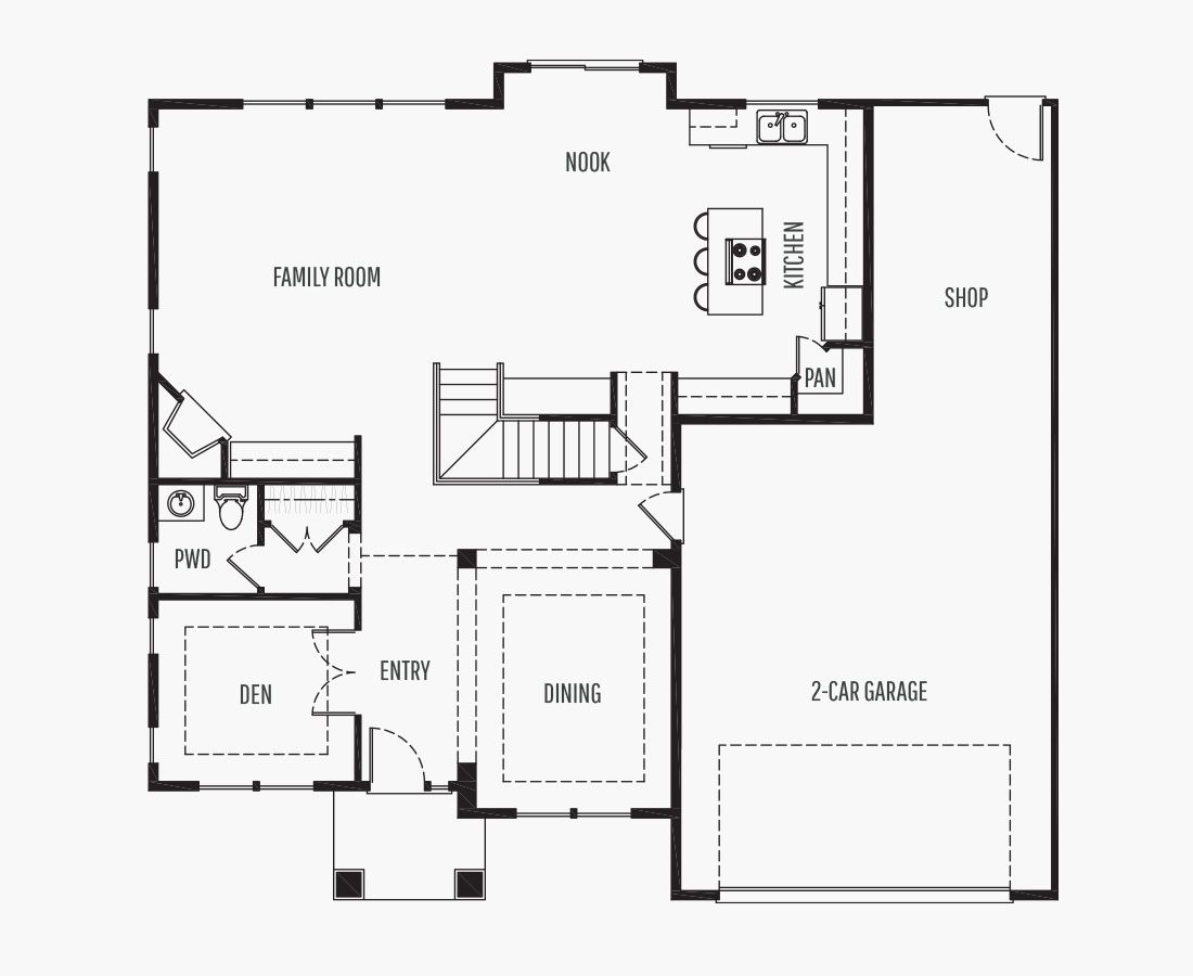 2807 Square Feet   Two Story    4 Bedrooms   4 Bathrooms   2 + shop car garage
