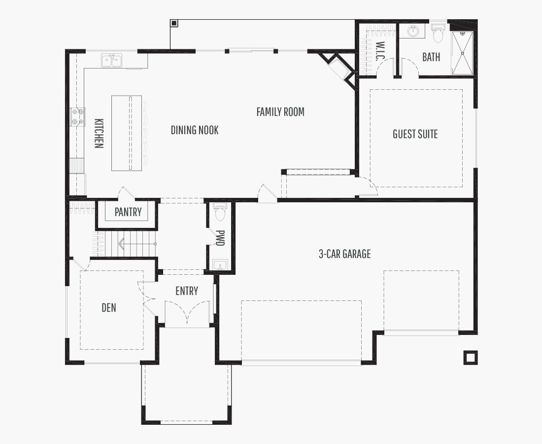 3751 Square Feet | Two Story  | 5 Bedrooms | 5 Bathrooms | 3 car garage