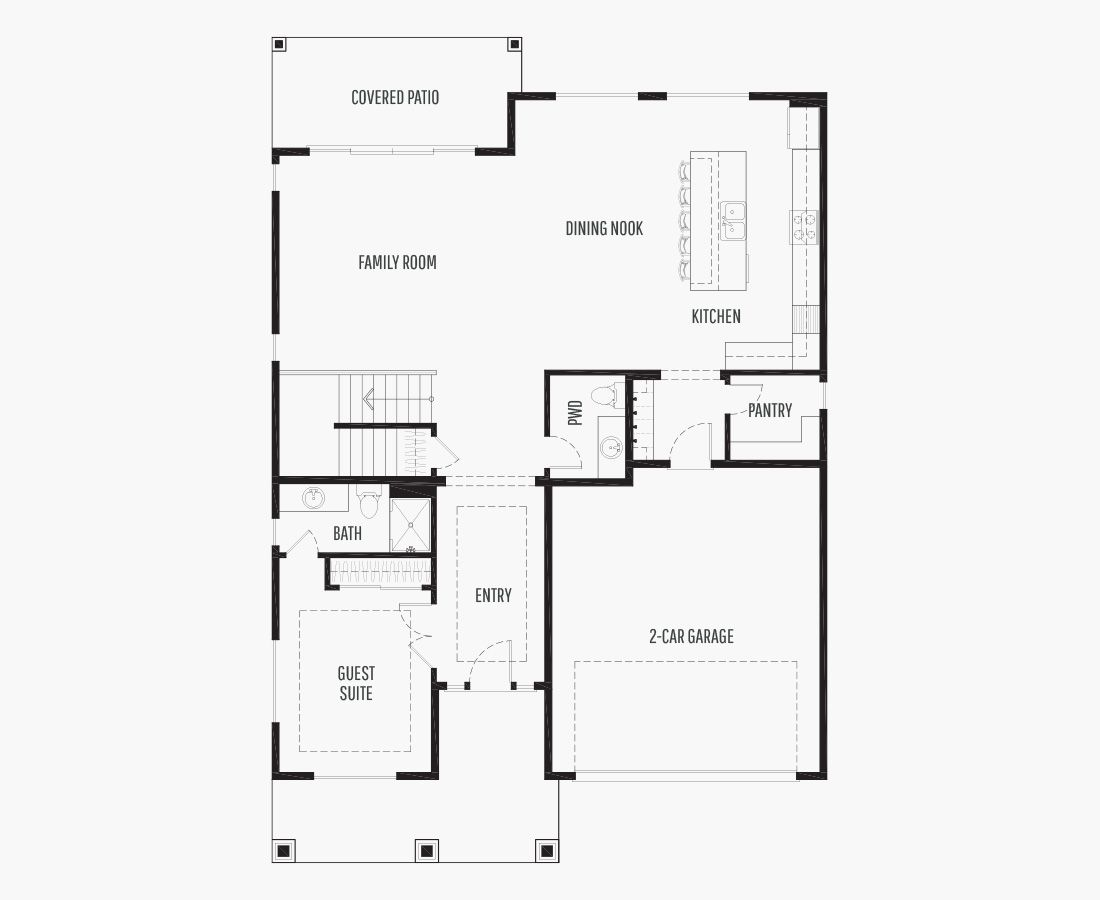 3134 Square Feet   Two Story    4 Bedrooms   4 Bathrooms   442 car garage